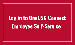 OneUSG Connect - Employee Self Service Login
