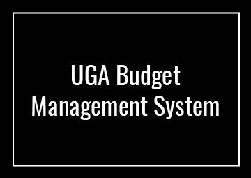 UGA Budget Management System